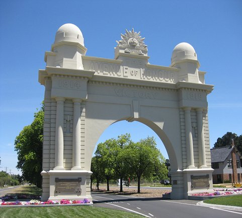 Victory Arch, Ballarat.